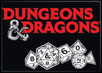 Dungeons and Dragons Magnet 2.5 X 3.5: DnD Logo