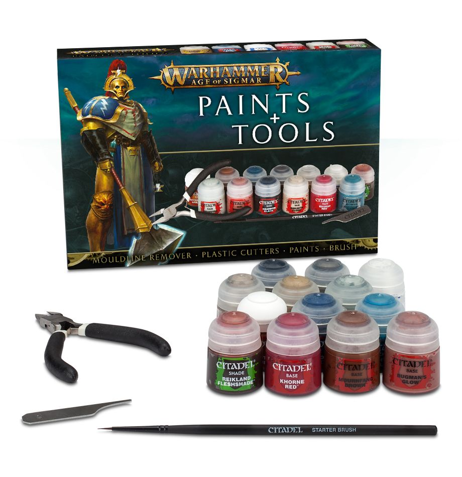 Warhammer: Age of Sigmar: Paints and Tools 80-17-60