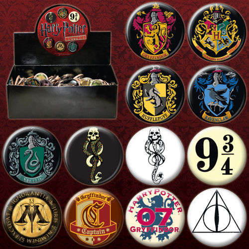 Assorted Harry Potter Button 82554