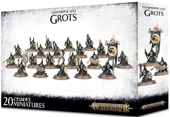 Warhammer: Age of Sigmar: Gloomspite Gitz: Grots 89-07