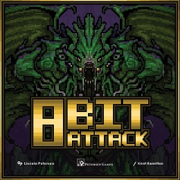 8 Bit Attack Board Game
