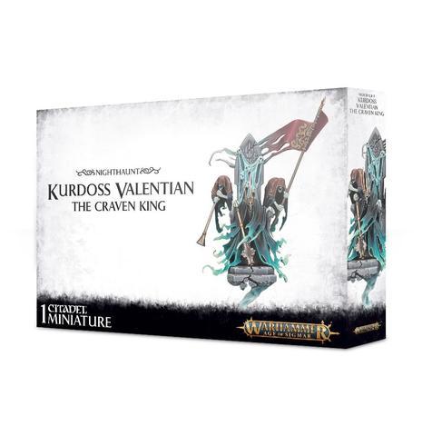 Warhammer: Age of Sigmar: Nighthaunt Kurdoss Valentian the Craven King 91-24