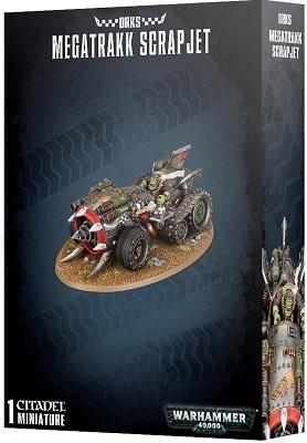 Warhammer 40K: Orks Megatrakk Scrapjet 50-36