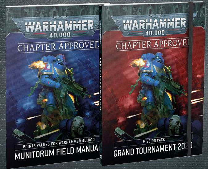 Warhammer 40K: Chapter Approved: Grand Tournament 2020 Mission Pack and Munitorum Field Manual (40-10)