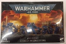 Warhammer 40K: Space Marines: Assault Intercessors 48-36