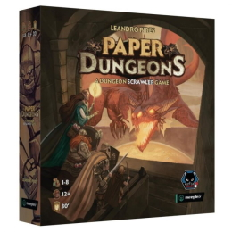 Paper Dungeons Board Game