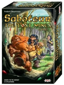 Saboteur: The Lost Mines Card Game (Amigo Games)