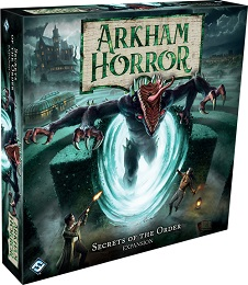 Arkham Horror the Board Game: Secrets of the Order Expansion