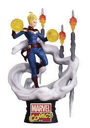 Marvel Comics D-Stage: Captain Marvel Statue