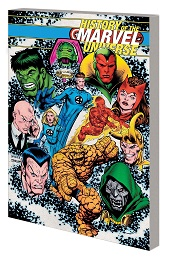 History of the Marvel Universe TP (McNiven Cover)