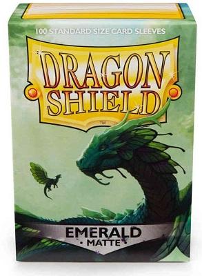 Sleeves: Dragon Shield: Matte Emerald: 100 Sleeves