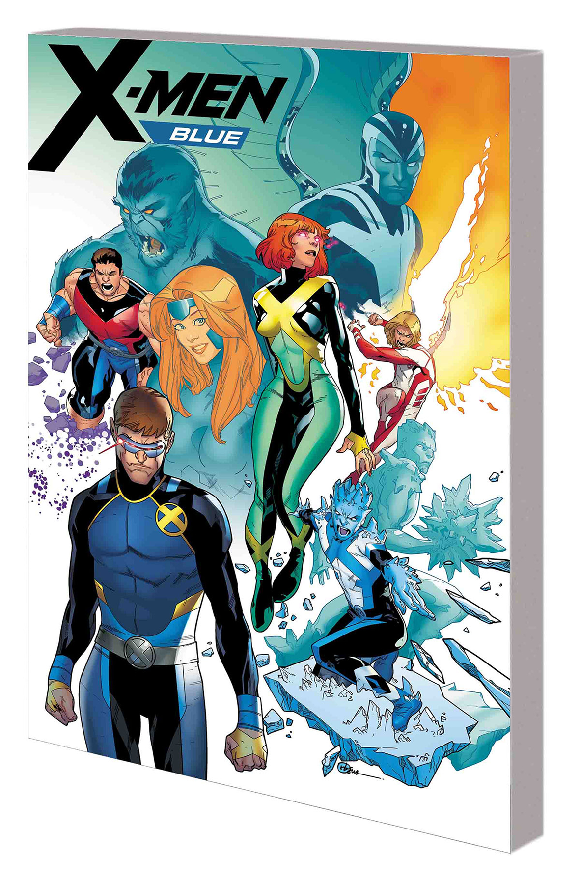 X-men Blue: Volume 5: Surviving Experience TP (2017)