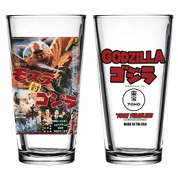 Godzilla 1964: Mothra Vs. Godzilla Movie Pint Glass