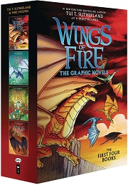 Wings of Fire: Volume 1-4 Box Set