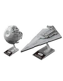 Star Wars Death Star II and Star Destroyer Model Kit