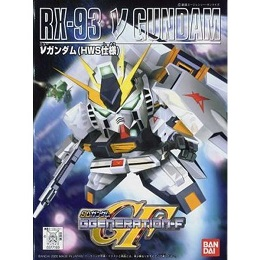 Gundam: BB 209 RX-93 Plastic Model Kit