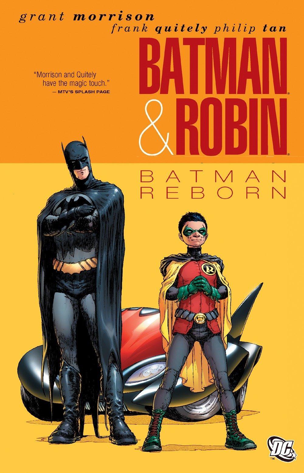 Batman and Robin: Volume 1: Batman Reborn TP - Used