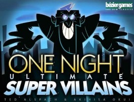 One Night Ultimate: Super Villains Card Game