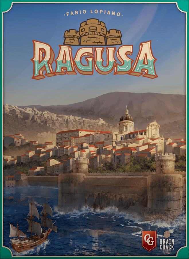 Ragusa Board Game - USED - By Seller No: 5880 Adam Hill