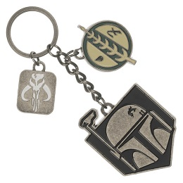 Star Wars Boba Fett Multi-Charm Keychain