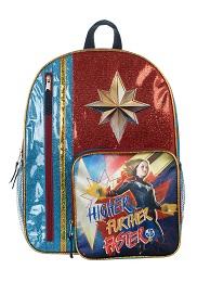 Captain Marvel Backpack