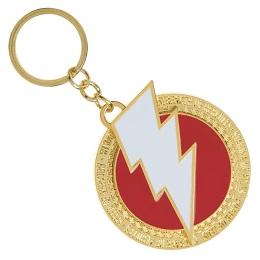 Shazam Logo Rotating Keychain