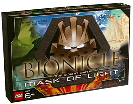 Bionicle Mask of Light Board Game