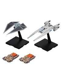 U-Wing Fighter and Tie Striker Model Kit