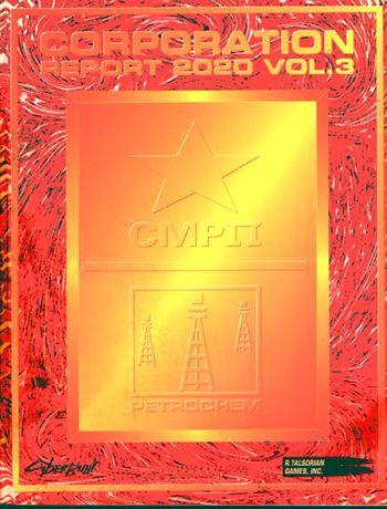 Cyberpunk: Corporation Report 2020 Vol. 3 - Used