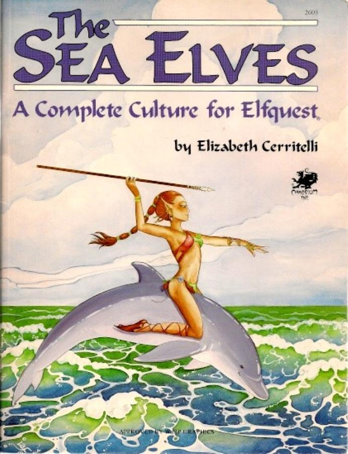 Sea Elves: A Complete Culture for Elfquest 2603 - USED