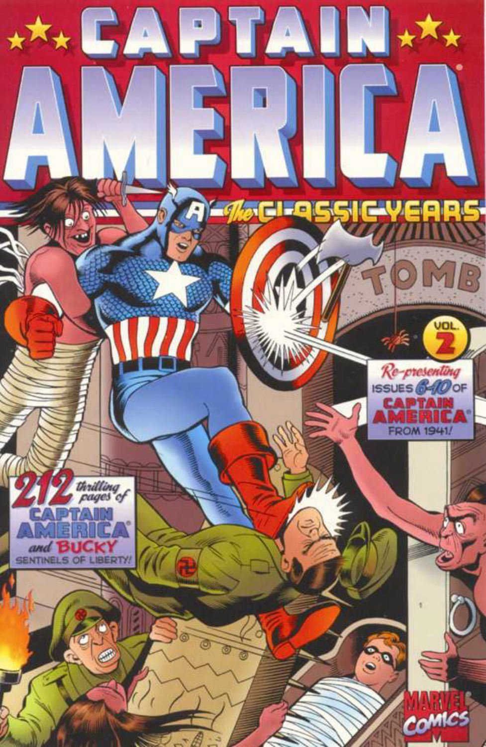 Captain America: The Classic Years: Volume 2 TP - Used
