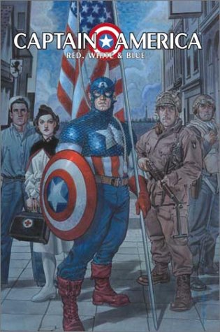 Captain America: Red, White and Blue HC - Used