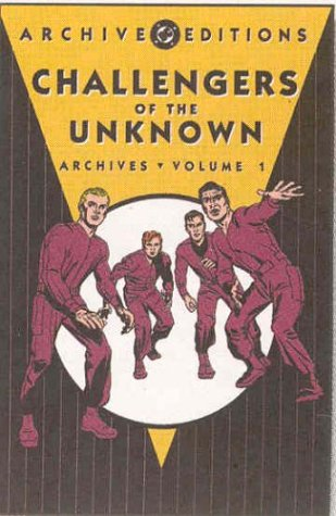 Archive Editions: Challengers of the Unknown Archives: Volume 1 HC - Used