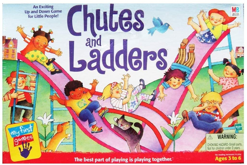 Chutes and Ladders Board Game - USED - By Seller No: 19164 Theresa Sivec