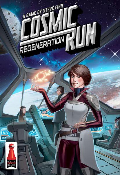 Cosmic Run: Regeneration Board Game - USED - By Seller No: 6317 Steven Sanchez