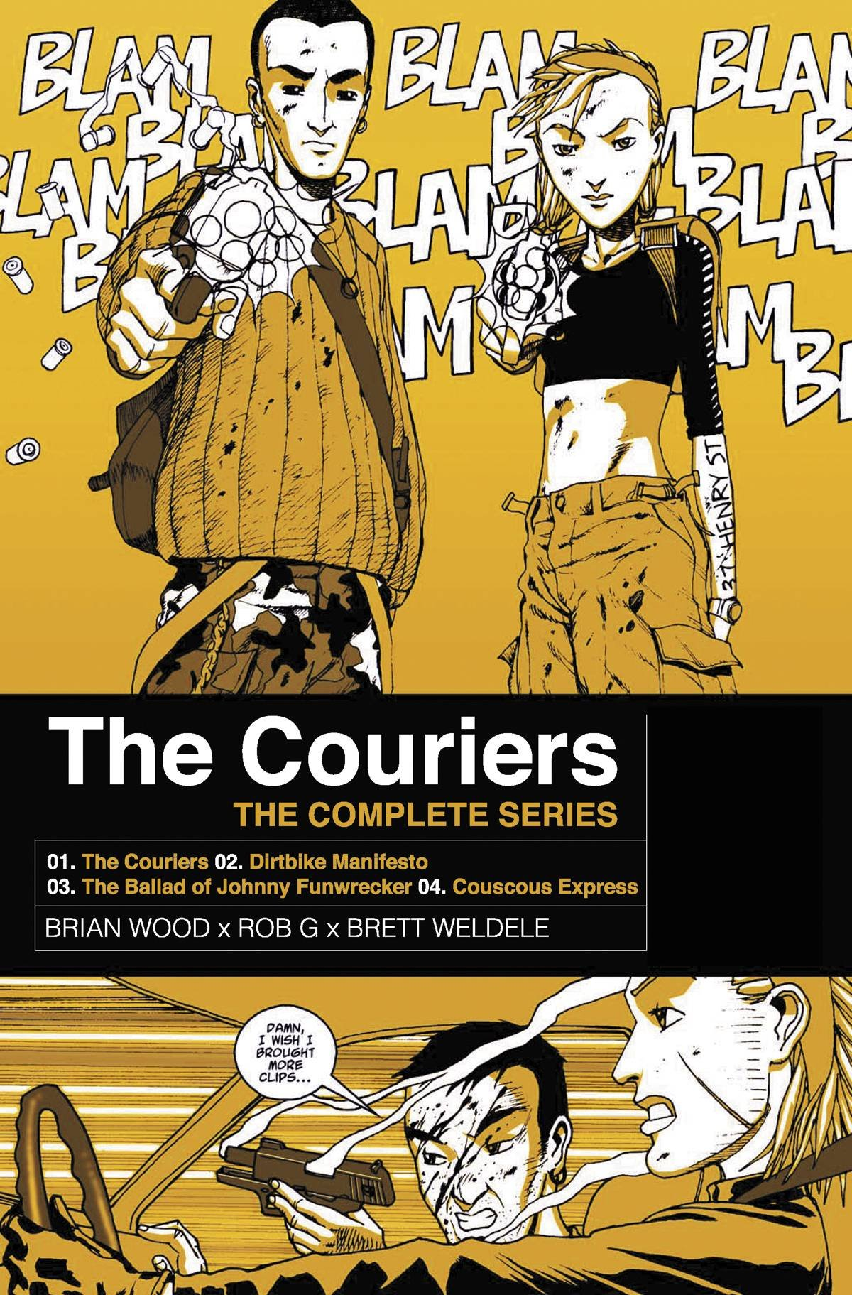 The Couriers: The Complete Series TPB - Used