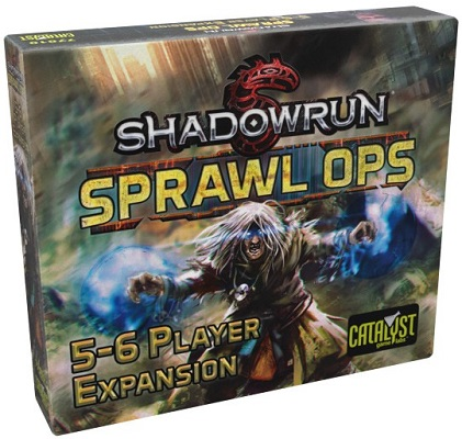 Shadowrun: Sprawl Ops: 5 to 6 Player Expansion