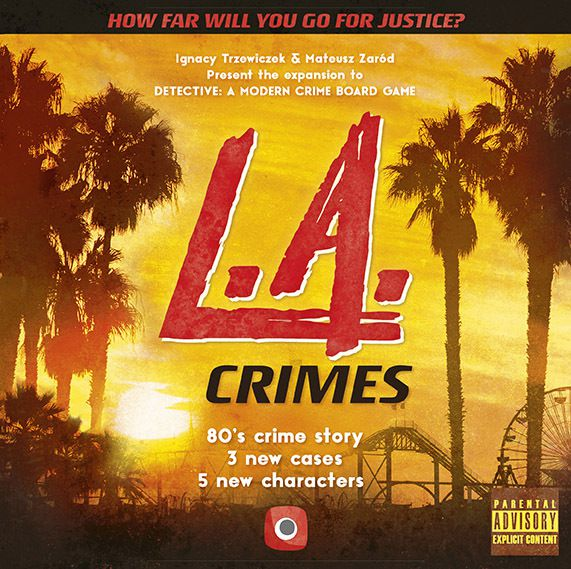 Detective LA Crimes - USED - By Seller No: 14204 Adam Leroy