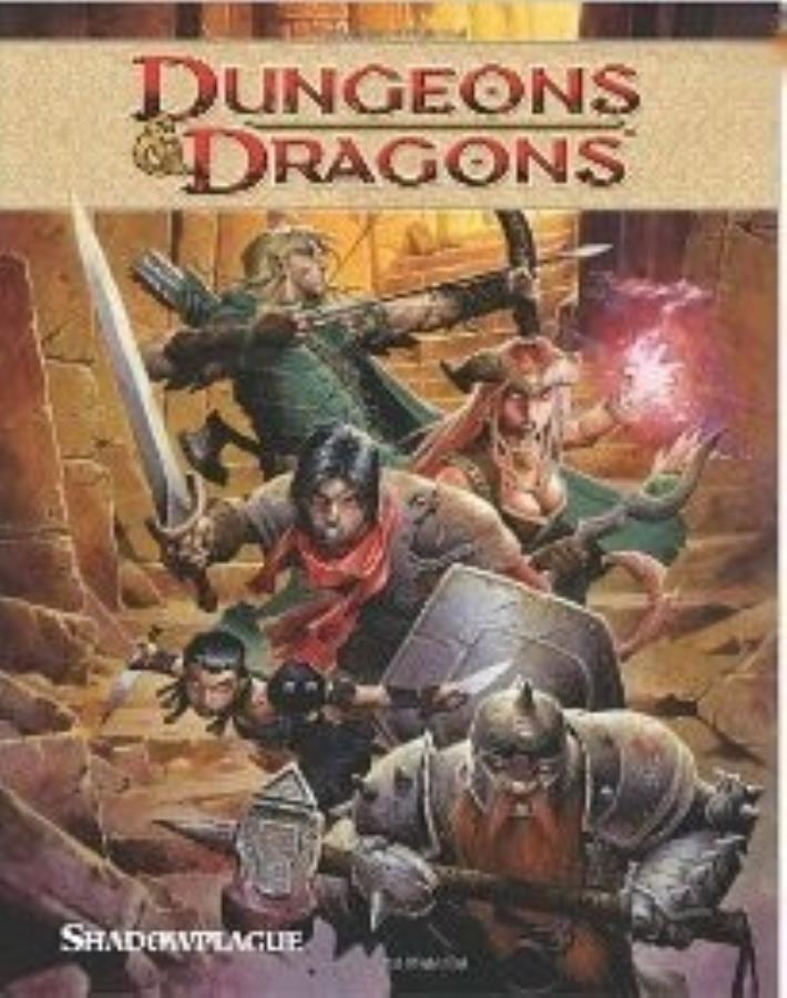 Dungeons and Dragons: Volume 1: Shadowplague GN - Used