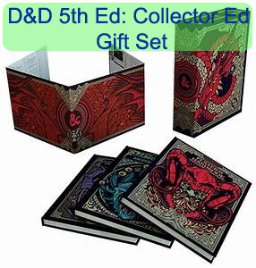 Dungeons and Dragons 5th Ed: Gift Set - Collector Edition