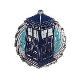 Doctor Who: Glowing Tardis Enamel Pin
