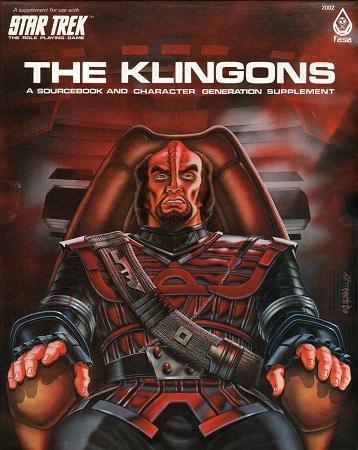 Star Trek RPG: The Klingons Box Set - Used