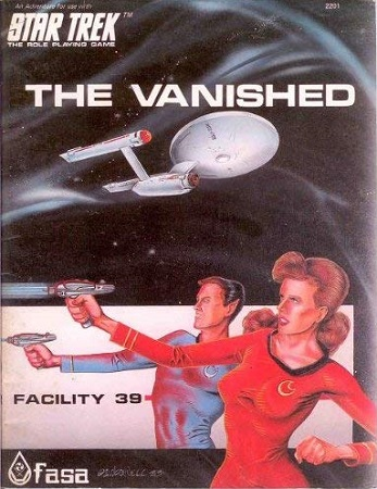 Star Trek RPG 1st Edition (FASA): The Vanished - Used