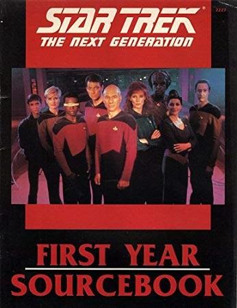 Star Trek: The Next Generation RPG: First Year Sourcebook - Used