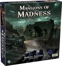 Mansions of Madness 2nd Ed: Horrific Journeys Expansion