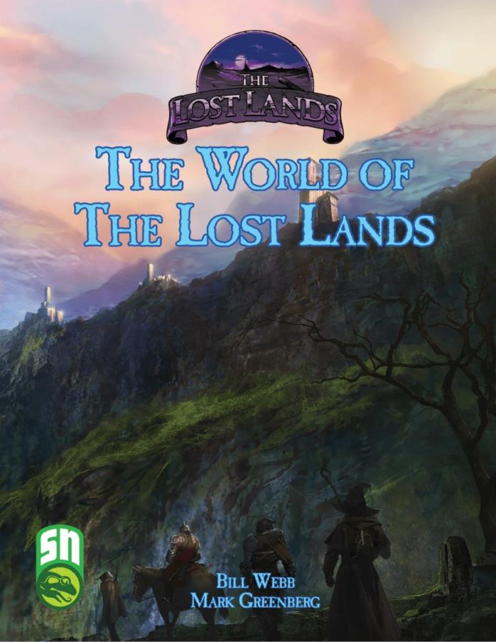 Lost Lands: The World of Lost Lands HC - Used