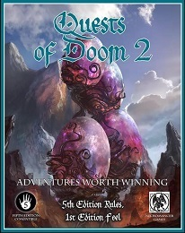 5th Edition Adventures: Quests of Doom 2 - Used