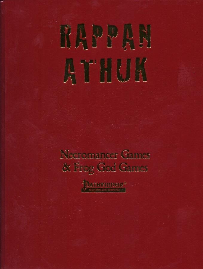 Pathfinder: Rappan Athuk Hardcover - Used