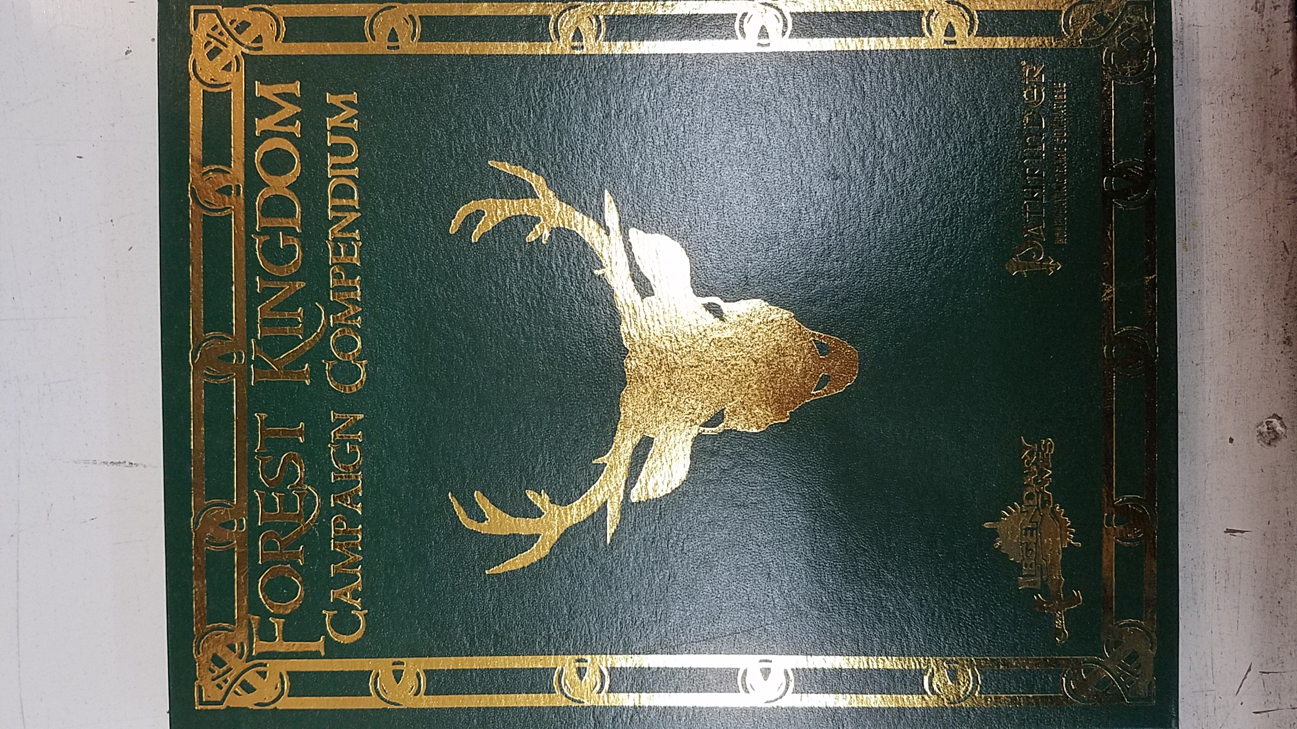 Forest Kingdom Campaign Compendium: Limited Edition: Pathfinder Compatible - Used