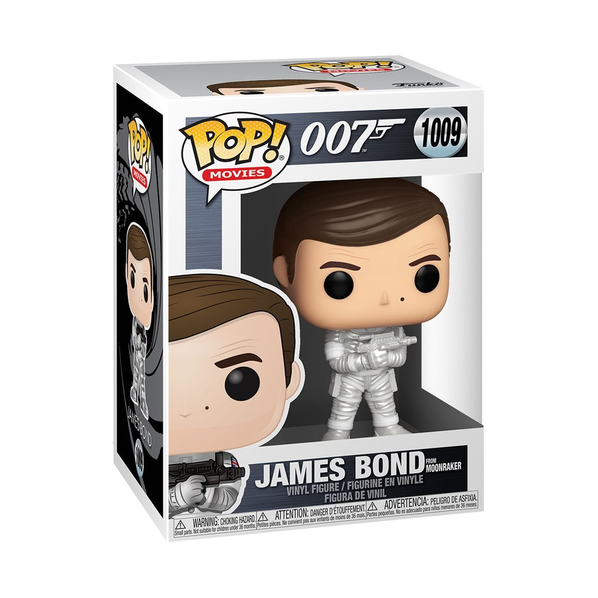 Funko POP: Movies: 007: James Bond (Moonraker) (1009)